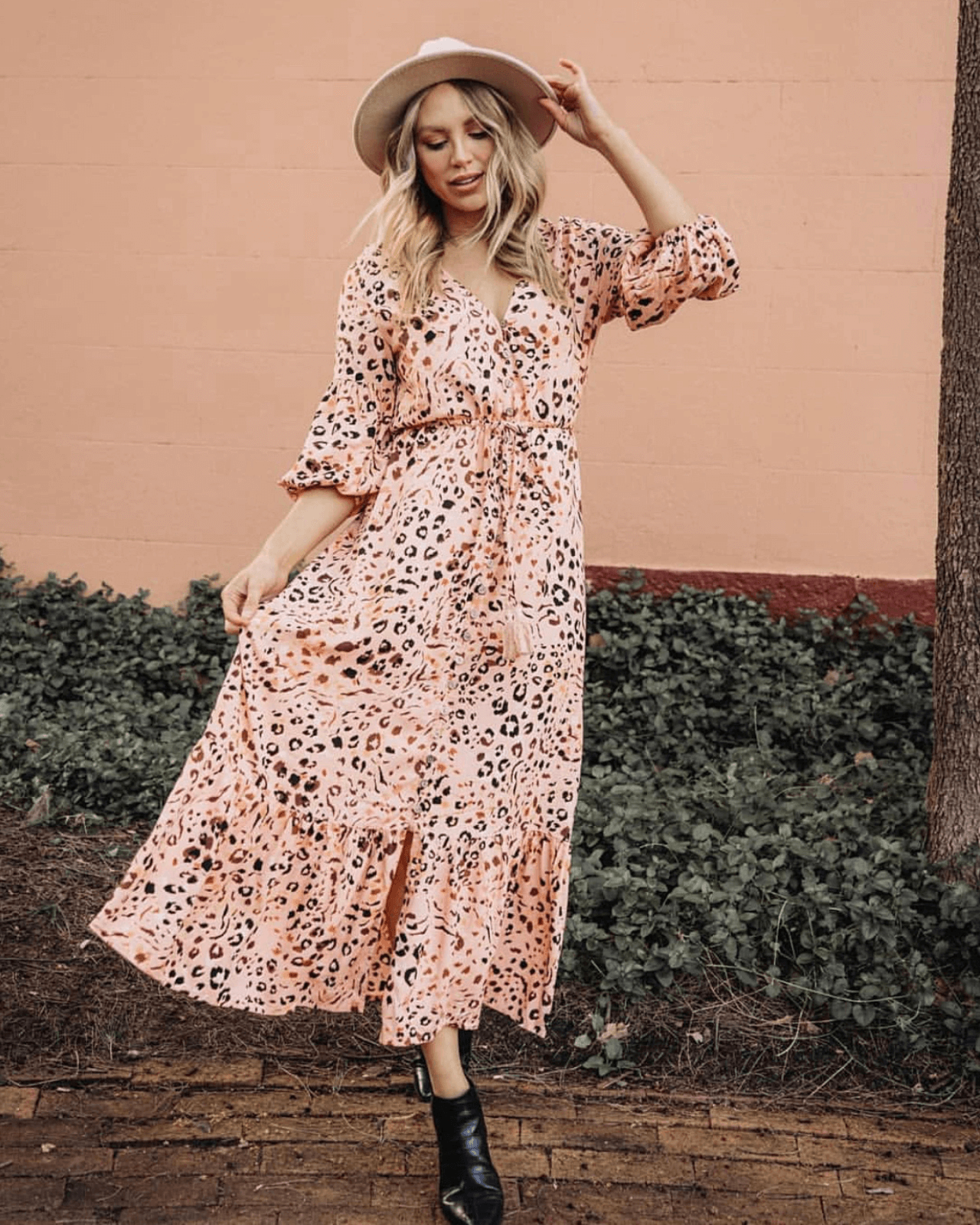 Peach Nara Maxi Dress PRE-ORDER EARLY OCTOBER