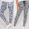 Jogger Two Pair Bundle -  Mila Ink Leopard and Mila Grey Leopard