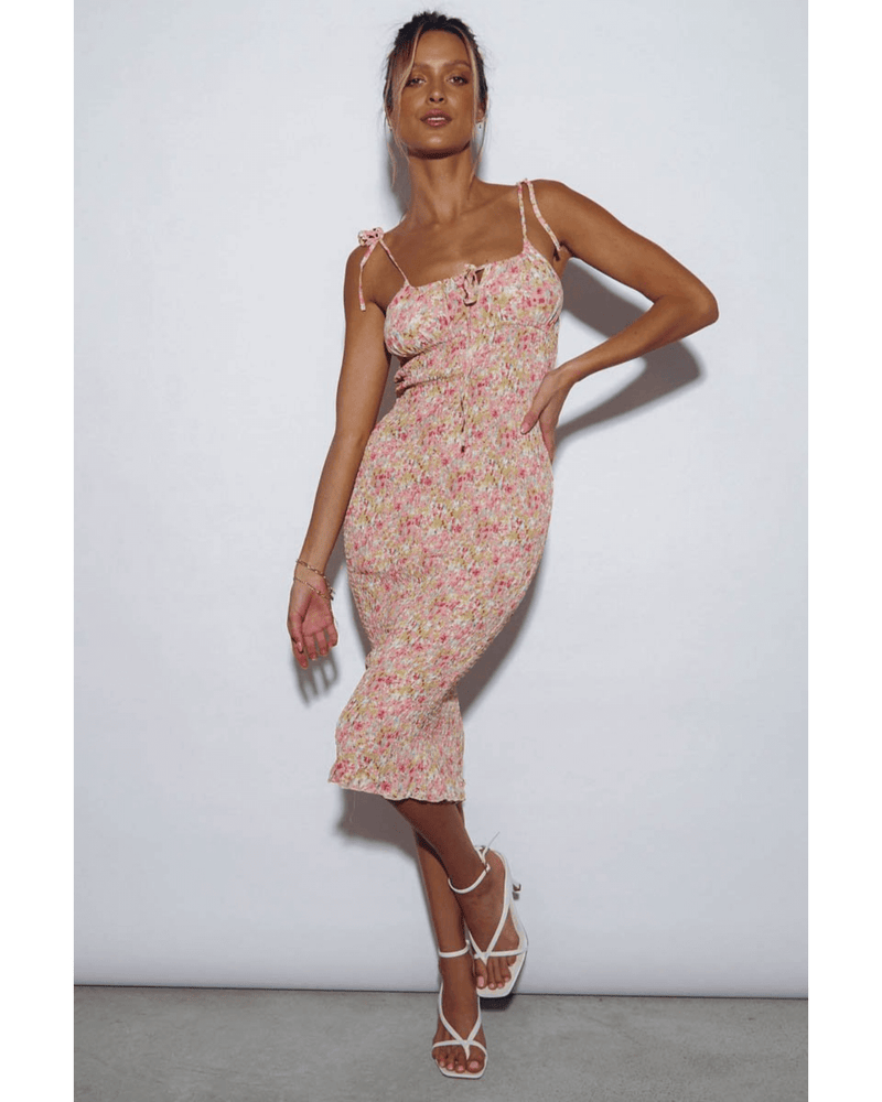 Newport Dress -  Sunset Floral