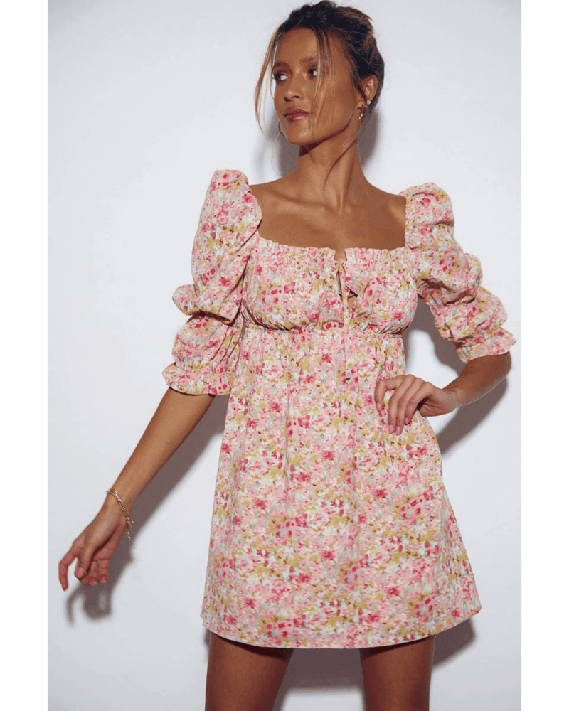 Sicily Dress -  Sunset Floral