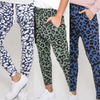 Three Pair Bundle -  Mila Ink Leopard /Mila Khaki Leopard/ Mila Blue Denim Leopard