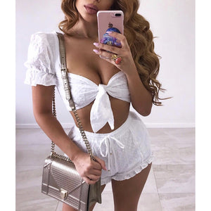 HEAVEN SENT TOP WHITE
