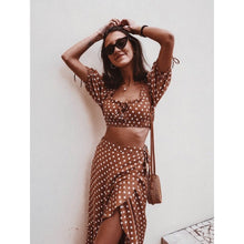 JULIA CROP TOP RUST SPOT