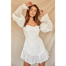 Soleil Dress - White