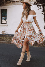 Indian Summer Boho Skirt - Natural