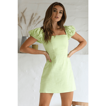 Millie Dress - Lime