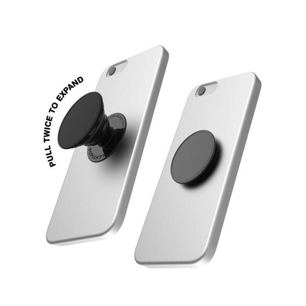 Phone Grip/Phone Stand (Black) - Shopping with Cryptocurrency