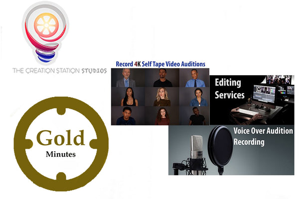 'Gold' Minutes - The Creation Station Studios - Shopping with Cryptocurrency