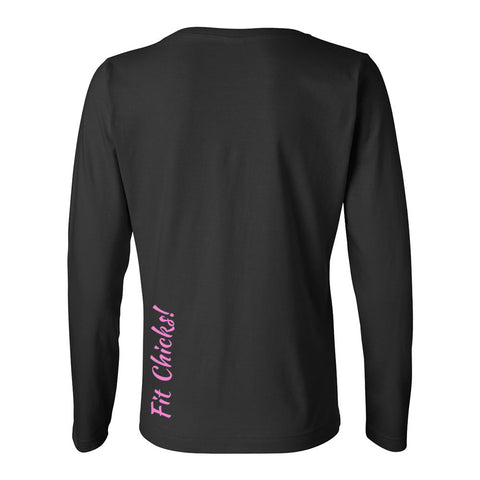 Gratitude is Gangster Long Sleeve TOP (white logo)
