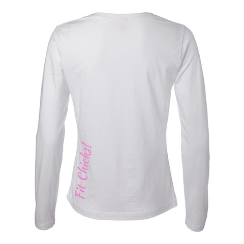 Hello Beautiful Long Sleeve TOP (black logo)