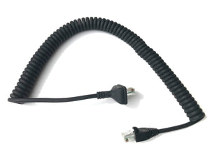 Kenwood 8-pin replacement mic cable KMC-27A KMC-27B KMC-30 KMC-32 KMC-35 KMC-59 etc