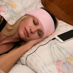 Anti-Noise Sleeping Headphone pink