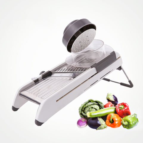 Image of Professional Kitchen Mandoline Vegetable Slicer