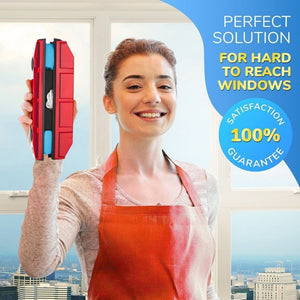 Magnetic Window Cleaner Red