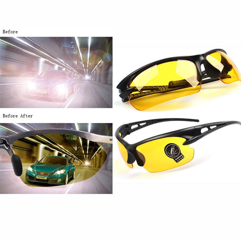 Image of Night Driving Glasses Gold