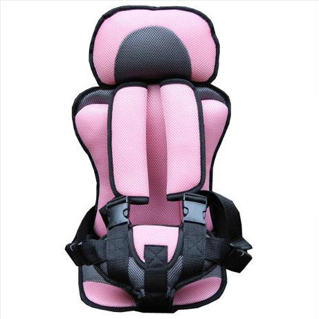 Image of Baby Car Seat Safety Belt PInk