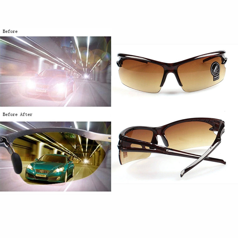 Night Driving Glasses Brown