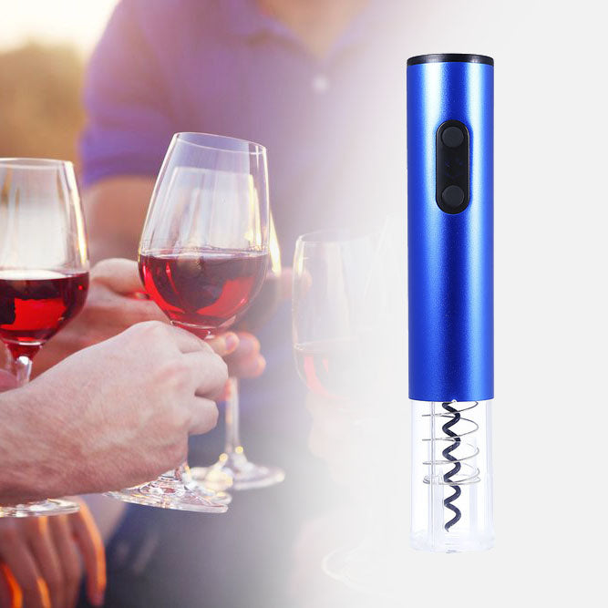 Electric Wine Opener blue