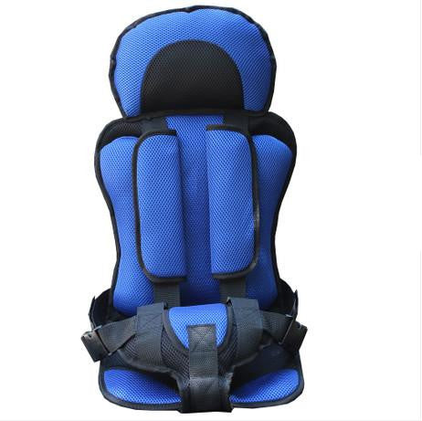 Image of Baby Car Seat Safety Belt Blue