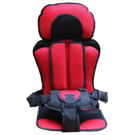 Image of Baby Car Seat Safety Belt Red