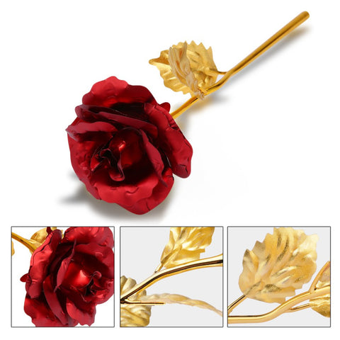 Image of 24K Forever Gold Plated Rose