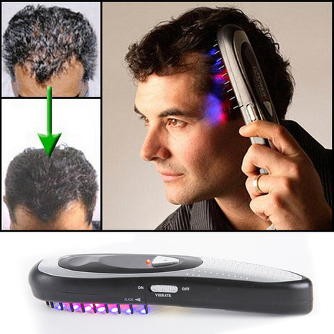 Image of Professional Electric Laser Hair Growth Comb Kit