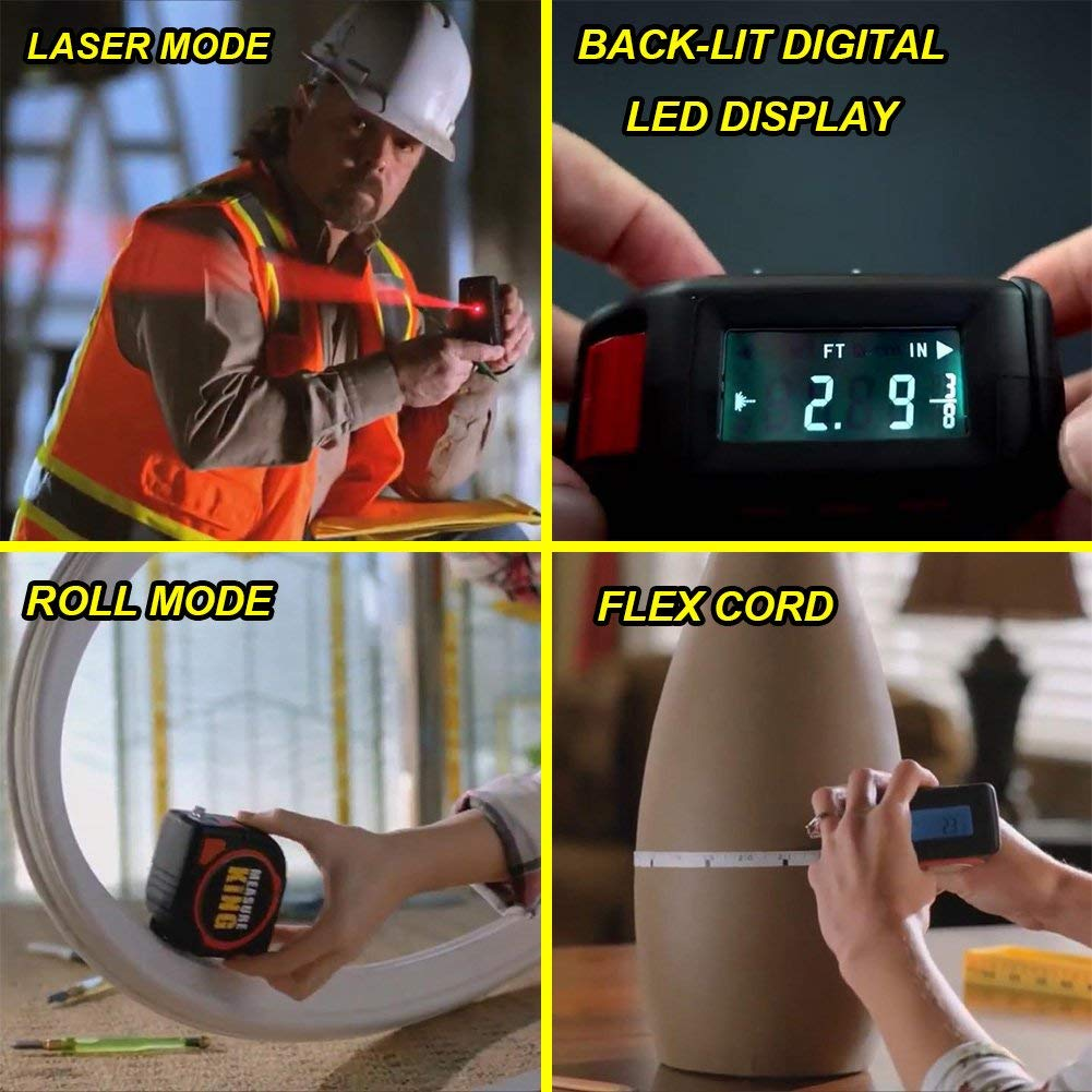 Smart Digital Tape Measure