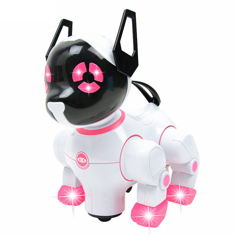 Robotic Toy Dog Pink