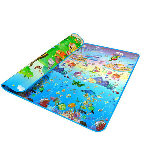 Baby Crawling PlayMat animal car ocean / 180cmX150cmX5mm