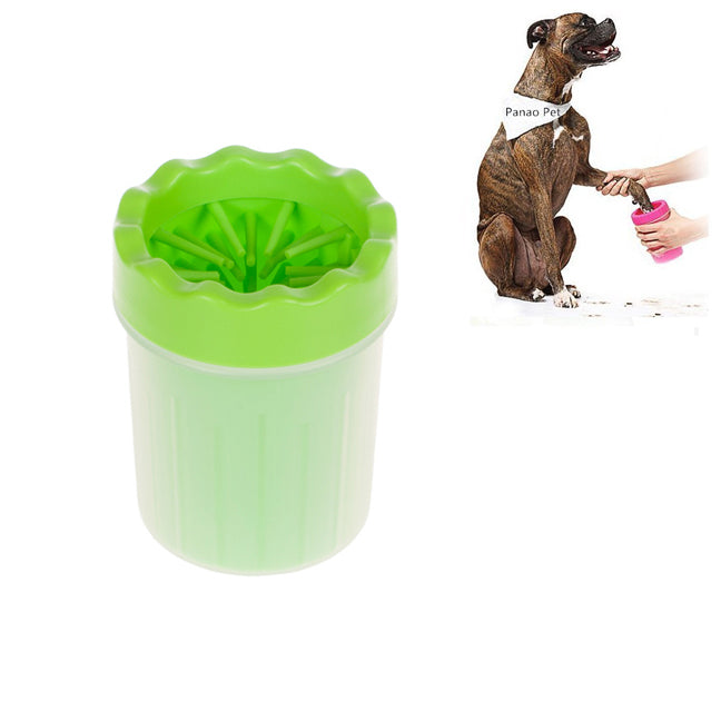 Easy Pet Paw Washer Cup Green / S