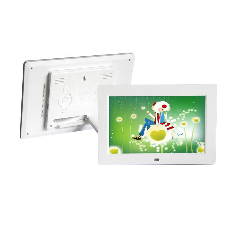 "10"" Digital Photo Frame White / US Plug"