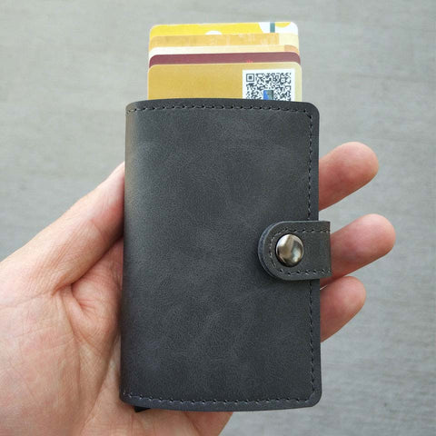 Card Holder Wallet Gray