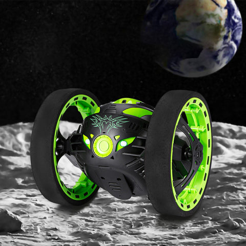 Remote Control Bounce Car Green