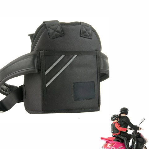 Kid's Motorcycle Safety Belt Black