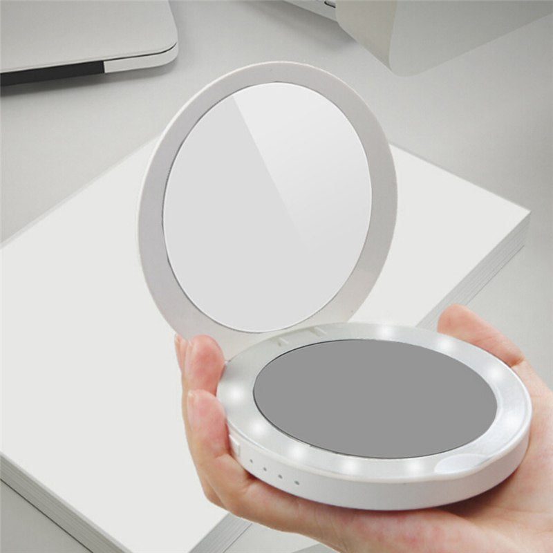 Light Up Compact Mirror
