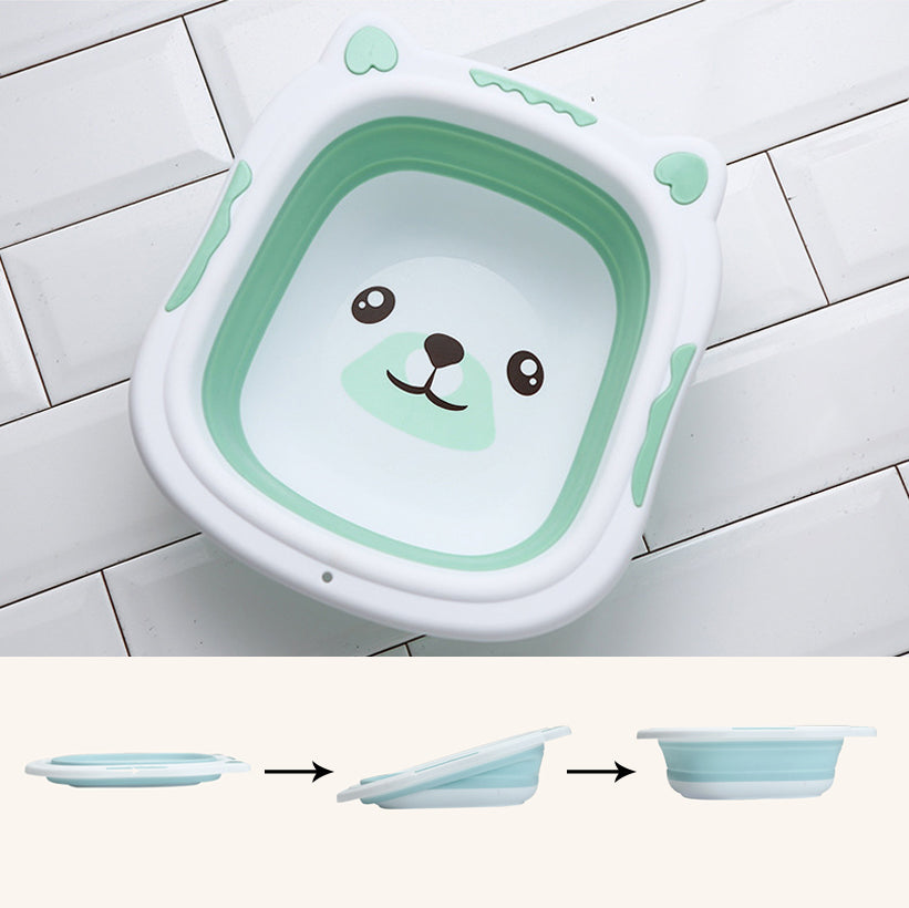 Collapsible Baby Bath Tub Aquamarine / Small