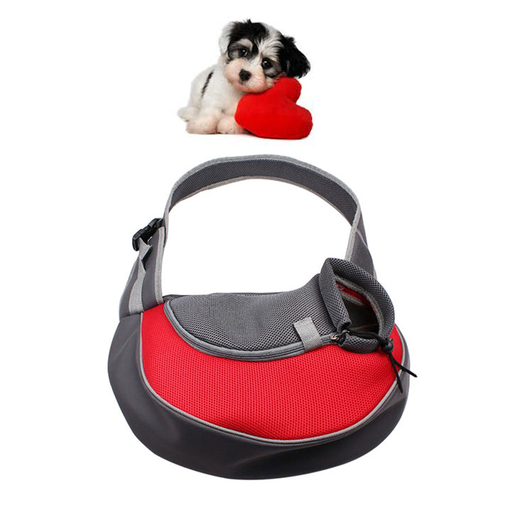 Pet Sling Carrier Red / L