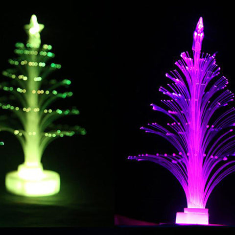 Color Changing Mini Xmas Tree