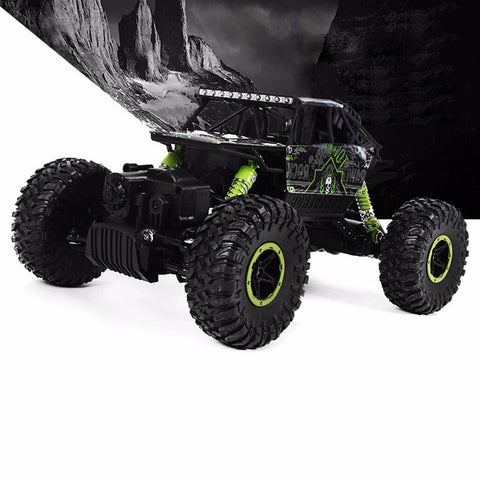 Image of 4x4 RC Rock Crawler green