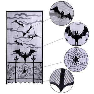 Spiderweb Lace Curtains