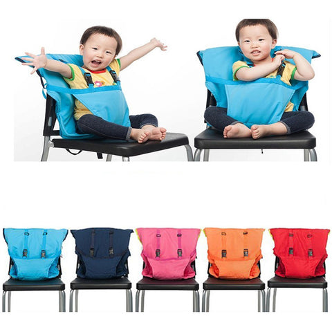 Image of Portable Baby Chair Safety Harness