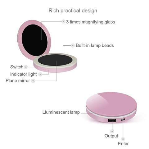 Image of Light Up Compact Mirror