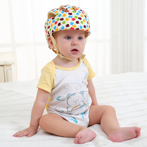 Image of Baby Safety Helmet multicolor