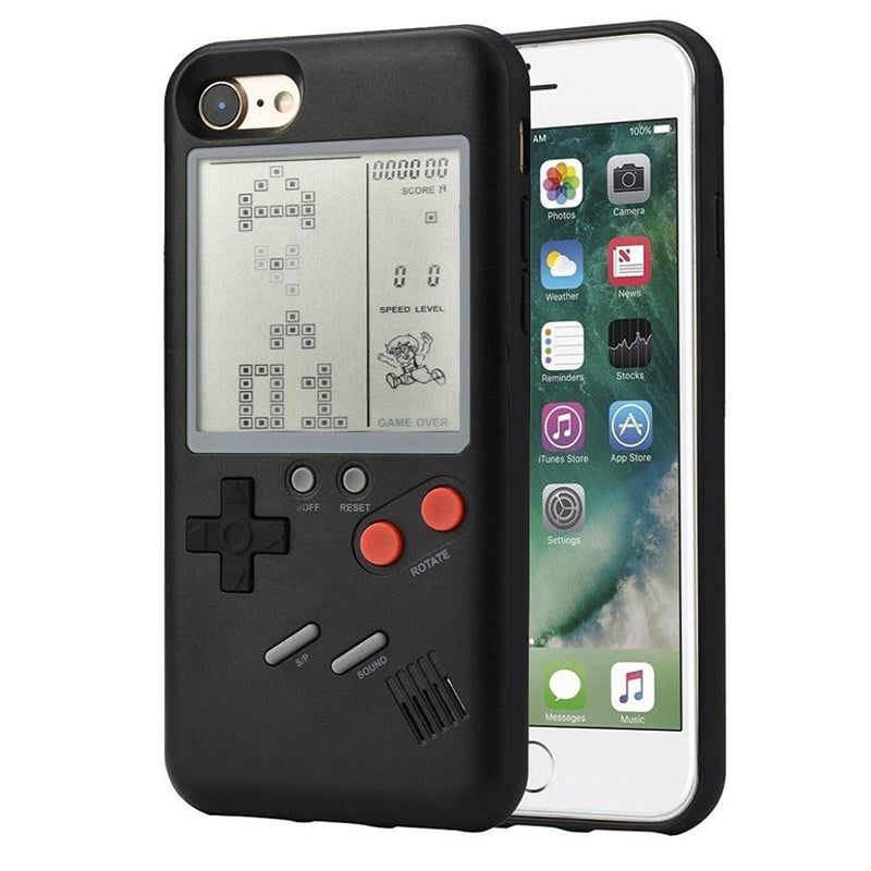 GameBoy iPhone Case Black / For 6 6S