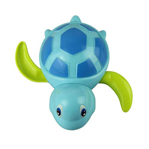 Swimming Turtle Bath Toy Blue