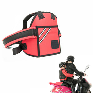 Kid's Motorcycle Safety Belt Red