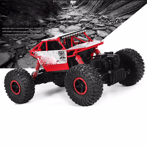 Image of 4x4 RC Rock Crawler red