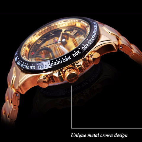 Steampunk Style Wrist Watch