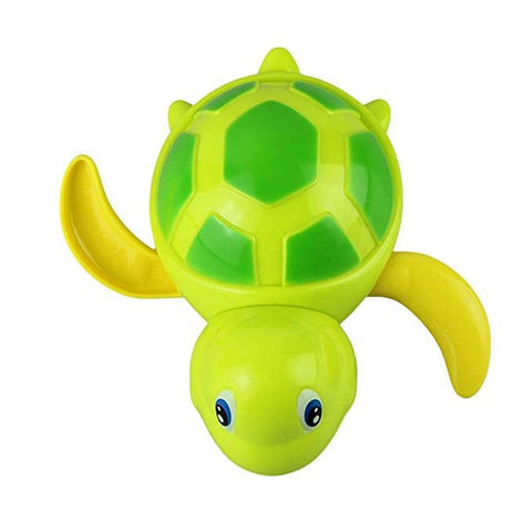 Image of Swimming Turtle Bath Toy Green