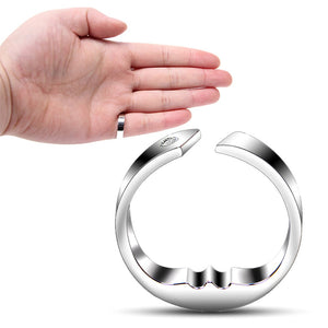 Anti Snore Finger Ring Silver / XS